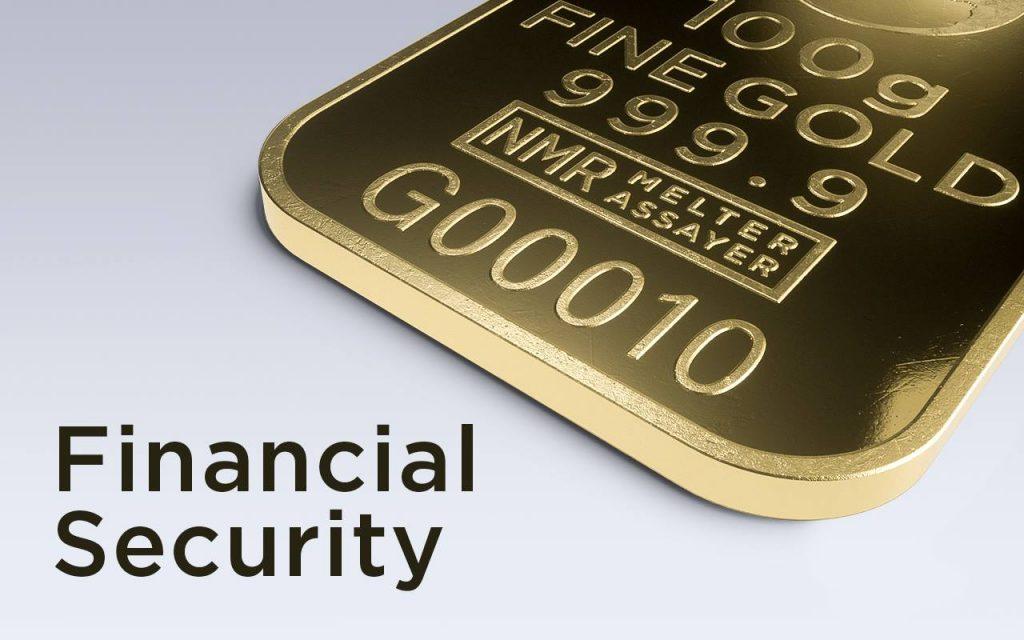 Goud geeft financiele zekerheid.