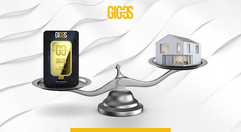 Goud of een huis
